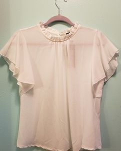 boohoo white blouse